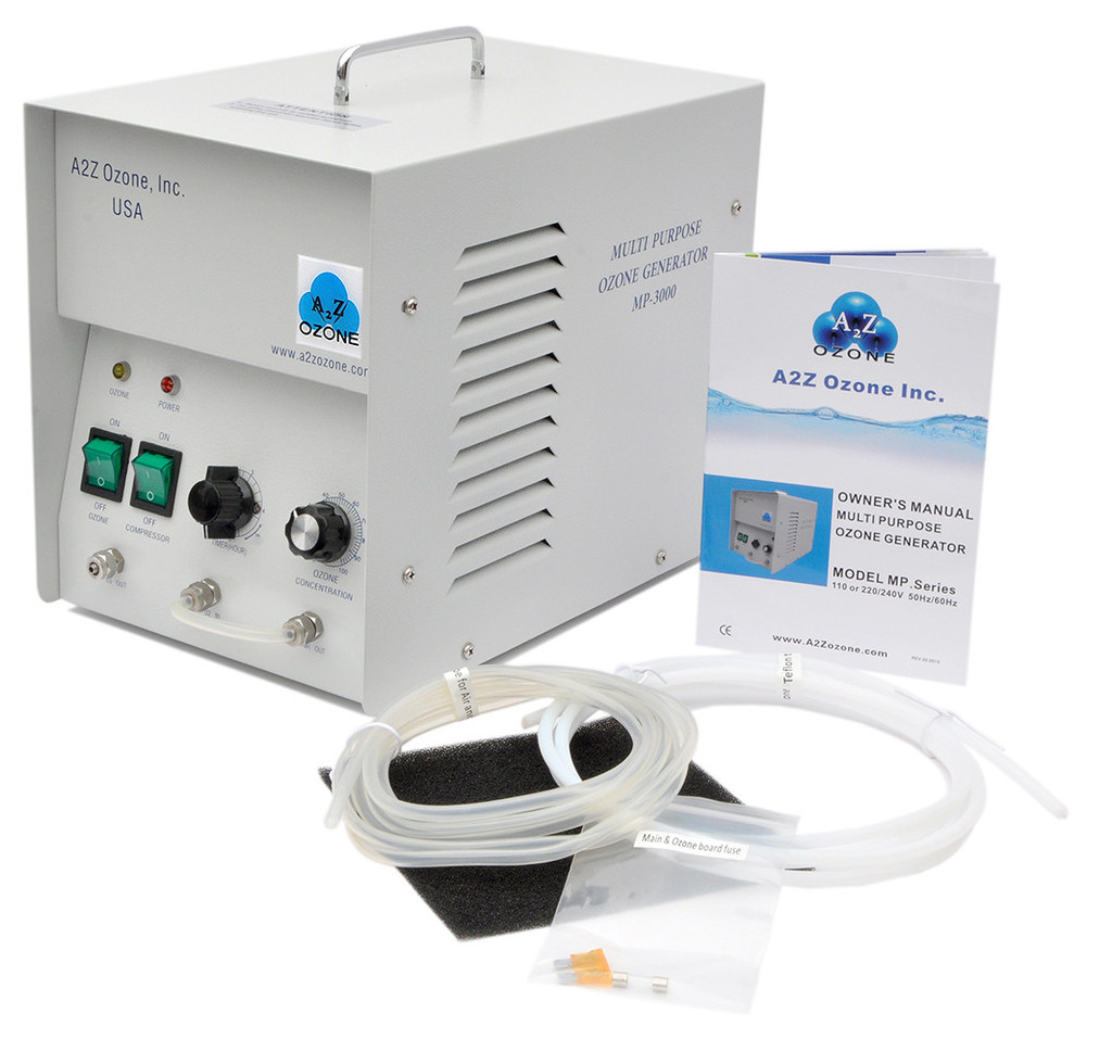 Commercial Ozone Generator MP3000 Packaging