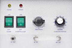 MP5000 Ozone Generator Front Panel