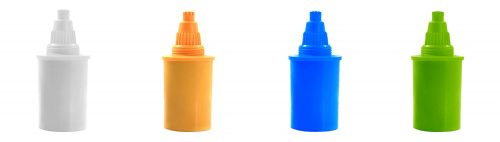 Alkaline Water Jug Filter colour strip