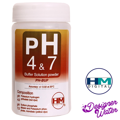 HM Digital pH Buffer Powder Solution Variety Pack