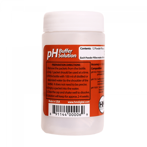PH Buffer Powder Solution Variety Pack