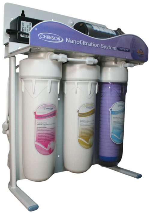 chanson nano water filtration system only