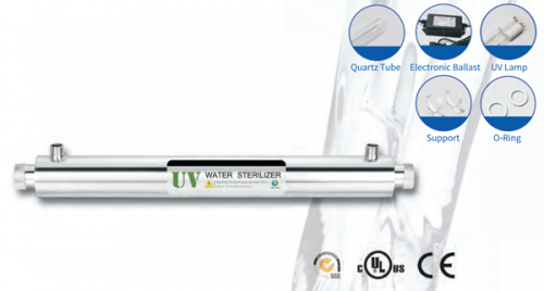 uv water filter, purifier, sterilizer