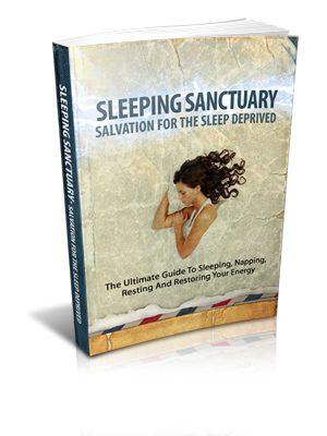 Sleeping Sanctuary Salvation For The Sleep Deprived