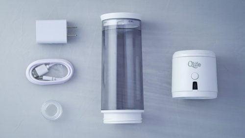 qlife hdyrogen water generator components