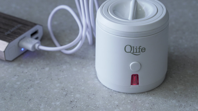qlife hdyrogen water generator powerbank