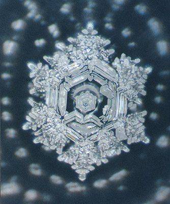 hexagonal water