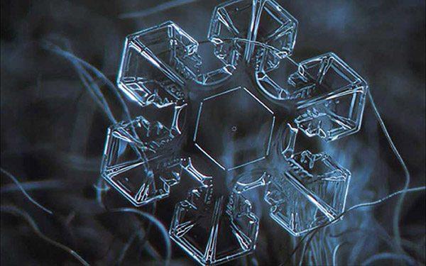 structured water hexagonal