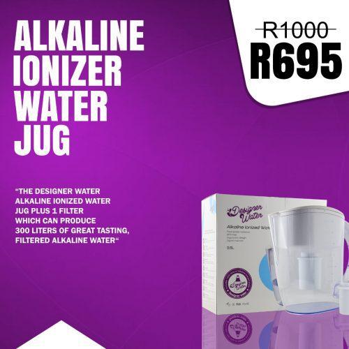 designer water alkaline water jug