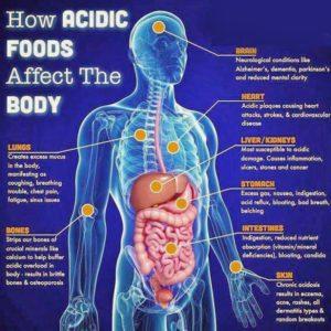 body acidity