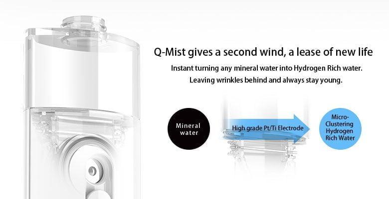 Q-Mist keep your skin healthy