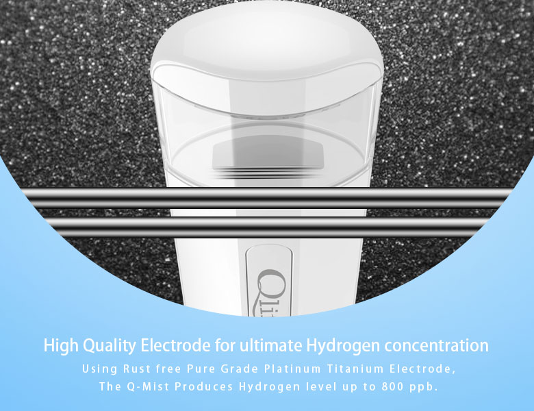 high quality electrode for ultimate hydrogen concentration