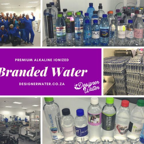 Branded Water 750ml Alkaline Water