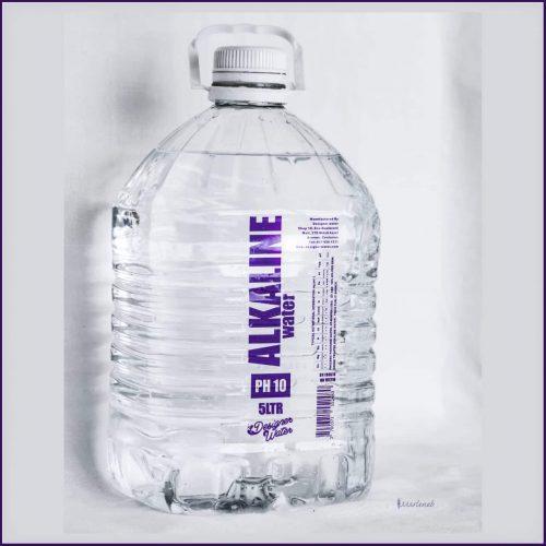 5 Ltr Designer Water Alkaline Water