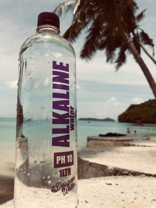 alkaline water,-bottled-water-shot